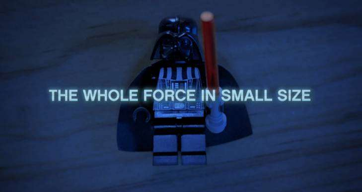 Bild:The Whole Force in Small Size!