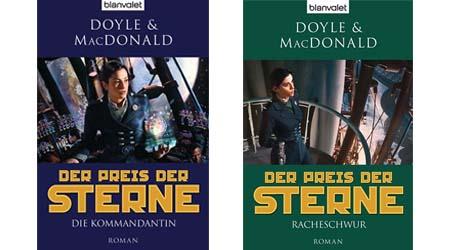 Bild:Der Preis der Sterne Band 1 und 2 | Die Kommandantin | Racheschwur