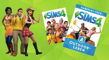Bild:Die Sims4 | Sims4 Outdoor-Leben