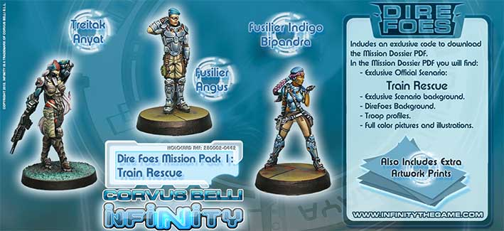 Bild:Infinity Dire Foes Mission Pack: Rescue In The Train