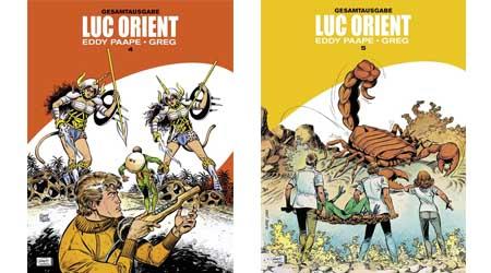 Bild:Luc Orient Gesamtausgabe Band 4 und 5