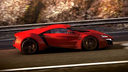 Bild:Supersportwagen Lykan Hypersport für Project CARS angekündigt