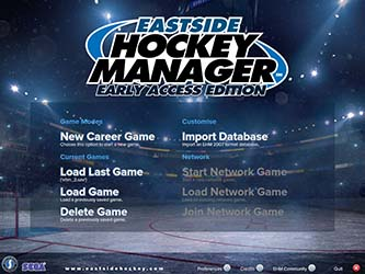 Bild:Sports Interactive und SEGA bringen den Eastside Hockey Manager (PC) via Steam Early Access zurück