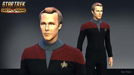 Bild:Star Trek Online: Tom Paris meldet sich für Staffel 10 zum Dienst.