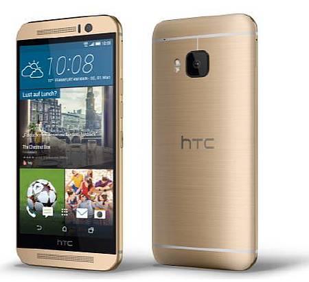 Bild:HTC One M9 jetzt in Gold