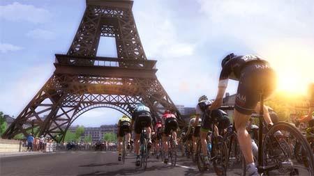 Bild:Die offiziellen Spiele zur Tour de France 2015 biegen mit ersten Screenshots um die Ecke