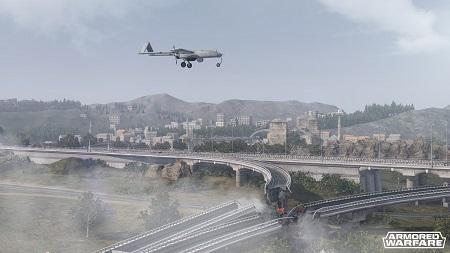 Bild:Armored Warfare: Neues Video zur Karte: Stiller Fluss veröffentlicht