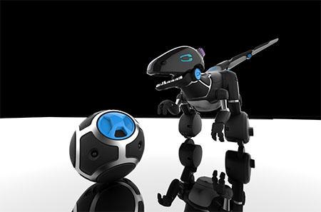 Bild:Roboter MIPosaur für den Spielzeugpreis