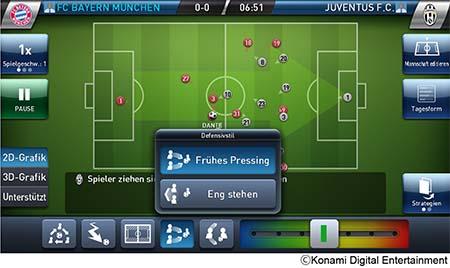 Bild:KONAMI pfeift zum Anstoß auf mobilen Endgeräten: PES Club Manager für iOS und Android ab sofort erhältlich