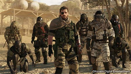 Bild:KONAMI: Video Gameplay Präsentation von METAL GEAR SOLID V: THE PHANTOM PAIN anlässlich E3