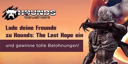Bild:Für Freundschaften in Hounds: The Last Hope Belohnungen einheimsen
