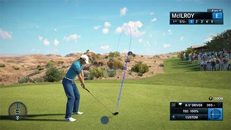Bild:EA SPORTS Rory McIlroy PGA TOUR ist bereit zum Abschlag