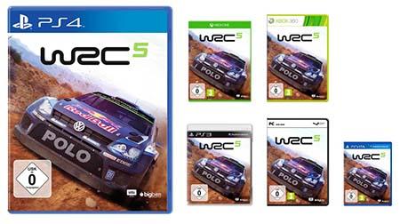 Bild:Offizielle Packshots zu WRC 5 veröffentlicht
