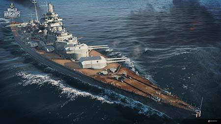 Bild: Ankündigung der deutschen Marine in World of Warships