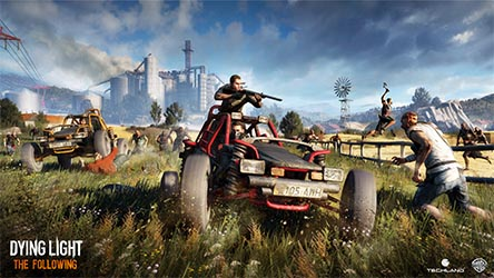 Bild:15 Minuten Gameplay-Video zu Dying Light: The Following
