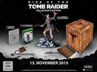 Bild:RISE OF THE TOMB RAIDER: Exklusive Collector's Edition