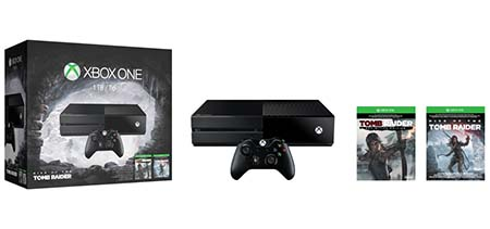 Bild:Xbox One Rise of the Tomb Raider Bundle